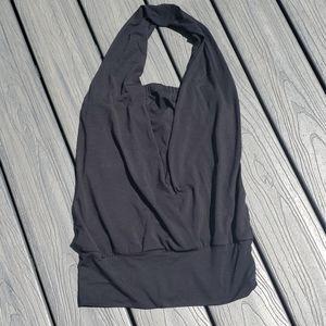 Bisou Bisou Black Blouse Size S